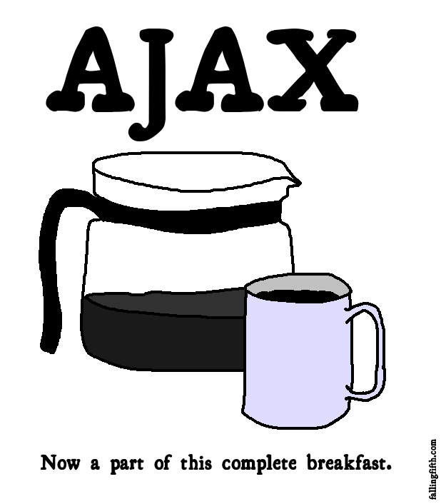 Some AJAX each day keeps the Web 1.0 at bay.