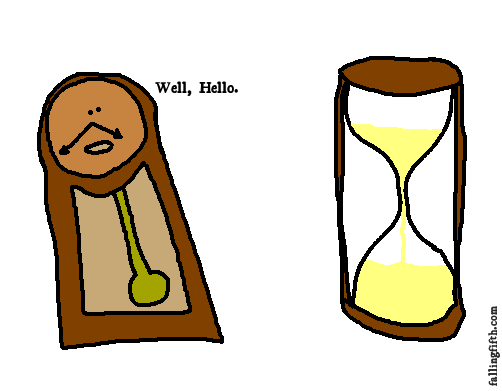 Dude, she's not even animate.