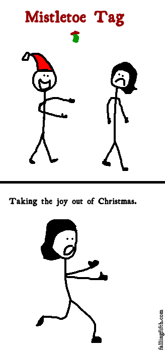 Taking the joy out of Christmas.